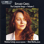 Edvard Grieg / Complete Songs, vol. 2 / Monica Groop / Ilmo Ranta