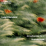 Luigi Cherubini / String Quartets Vol. 3 / Quartetto David