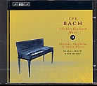 C.P.E. Bach / Solo Keyboard Music, Vol. 13 / Spányi