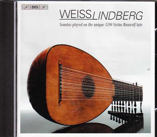 Silvius Leopold Weiss / Lute Music / Jakob Lindberg