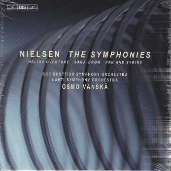 Carl Nielsen / The 6 Symphonies / BBC Scottish Symphony Orchestra / Osmo Vänskä 3CD