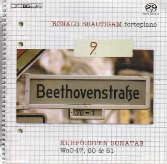 Ludwig van Beethoven / Piano Works, vol. 9 / Ronald Brautigam SACD