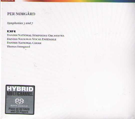 Per Nørgård / Symphonies 3 & 7 / Danish National SO / Thomas Dausgaard SACD