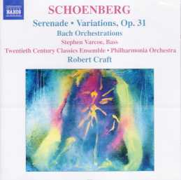 Arnold Schoenberg / Serenade, etc. / Robert Craft