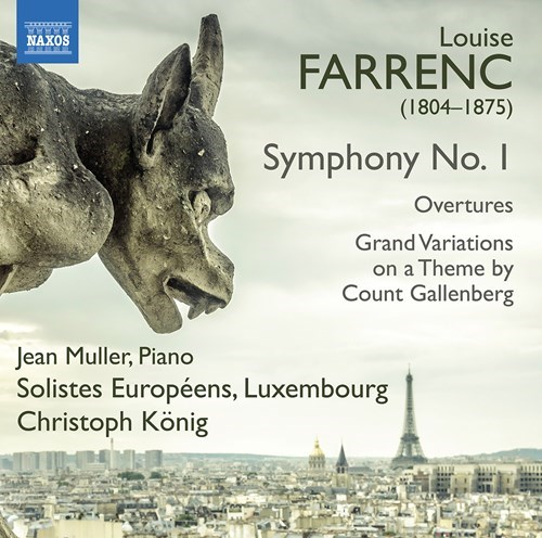 Louise Farrenc / Symphony no. 1 / Overtures // Solistes Européens Luxembourg / Christoph König