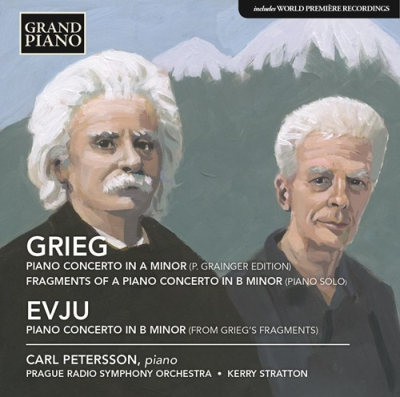 Edvard Grieg / Piano Concerto / Helge Evju / Piano Concerto // Carl Petersson / Prague Radio Symphony Orchestra / Kerry Stratton
