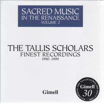 The Tallis Scholars Finest Recordings / Sacred Music in the Renaissance Vol. 2 / 4CD