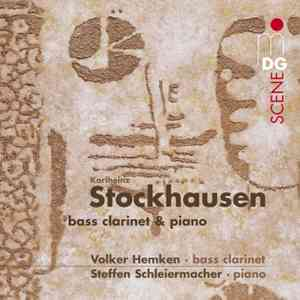 Karlheinz Stockhausen / Works for Bass Clarinet and Piano / Volker Hemken / Steffen Schleiermacher