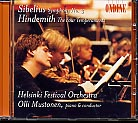 Jean Sibelius / Symphony No. 3 / Paul Hindemith / The Four Temperaments / Helsinki Festival Orchestra / Olli Mustonen