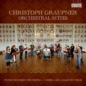 Christoph Graupner / Orchestral Suites // Finnish Baroque Orchestra / Sirkka-Liisa Kaakinen-Pilch