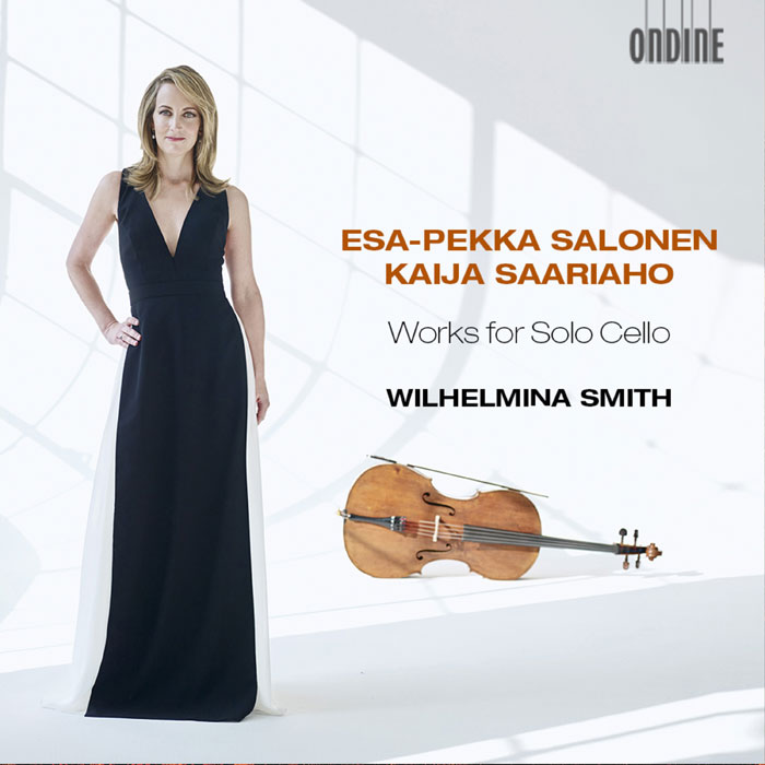 Kaija Saariaho / Esa-Pekka Salonen / Works for Solo Cello // Wilhelmina Smith