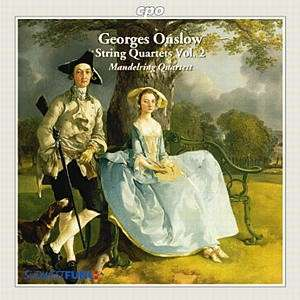 Georges Onslow / String Quartets vol. 2 / Mandelring Quartett