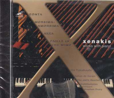 Iannis Xenakis / Works with piano / Aki Takahashi
