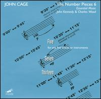 John Cage / The Number Pieces, vol. 6