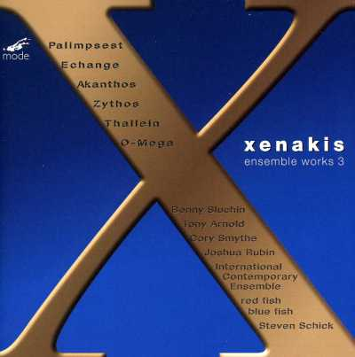 Iannis Xenakis / Ensemble Music III
