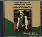 Dmitri Shostakovich / Works for Two Pianos / Alexander Tselyakov / Folke Gräsbeck