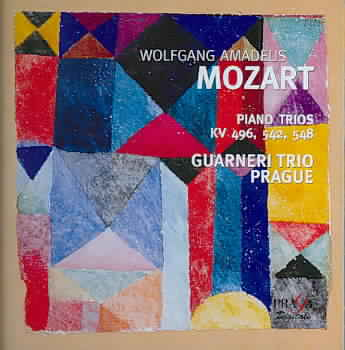 W.A. Mozart / Piano Trios / Guarneri Trio Prague