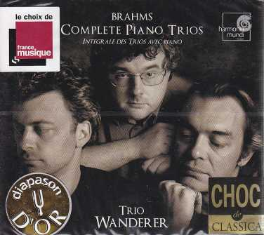 Johannes Brahms / Piano Trios (Complete) / Trio Wanderer 2CD
