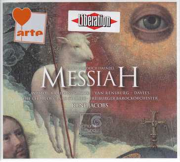 Georg Friedrich Hände / Messiah / Freiburger Barockorchester / René Jacobs 2CD