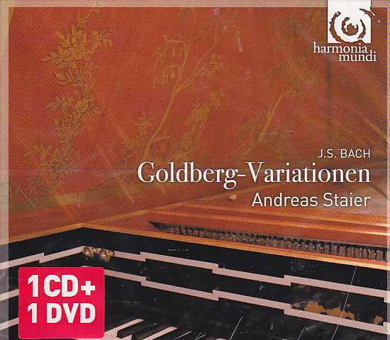J.S. Bach / Goldberg Variations / Andreas Staier  CD+DVD
