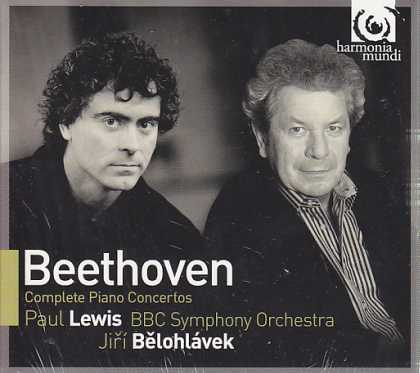 Ludwig van Beethoven / Piano Concertos (Complete) / Paul Lewis / BBC Symphony Orchestra / Jirí Belohlávek