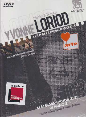 Yvonne Loriod / Pianist & Teacher DVD