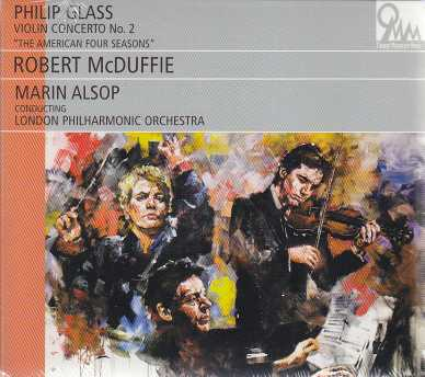 Philip Glass / Violin Concerto No. 2 / Robert McDuffie / London Philharmonic Orchestra / Marin Alsop