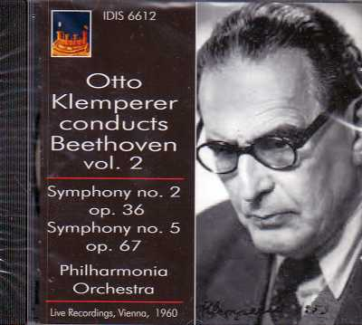 Ludwig van Beethoven / Symphonies 2 & 5 / Philharmonia Orchestra / Otto Klemperer