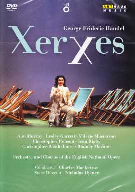Georg Friedrich Händel / Xerxes / Ann Murray, Lesley Garrett, Valeria Masterson, Christopher Robson / Charles Mackerras / English National Opera DVD