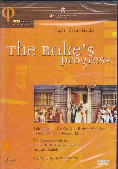 Igor Stravinsky / The Rake's Progress / Felicity Lott / Leo Goeke / The London Philharmonic Orchestra / Bernard Haitink DVD