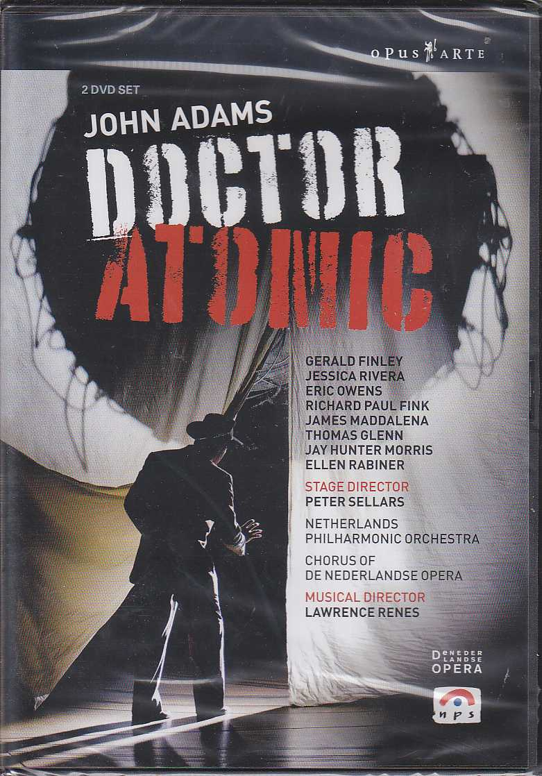 John Adams / Doctor Atomic / Netherlands Opera DVD
