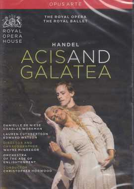 Georg Friedrich Händel / Acis and Galatea / Danielle de Niese / Charles Workman / Orchestra of the Age of Enlightenment / Christopher Hogwood DVD