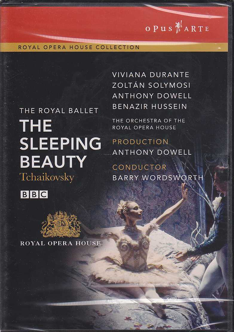 Pyotr Tchaikovsky / The Sleeping Beauty / Viviana Durante / Zoltán Solymosi / The Orchestra of the Royal Opera House / Barry Wordsworth DVD
