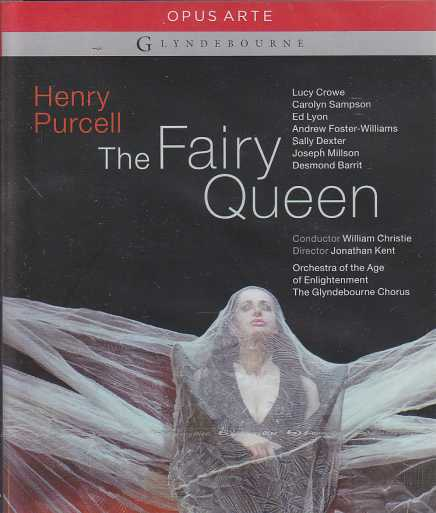Henry Purcell / The Fairy Queen / Lucy Crowe / Carolyn Sampson / Orchestra of the Age of Enlightenment / William Christie / Blu-ray Disc