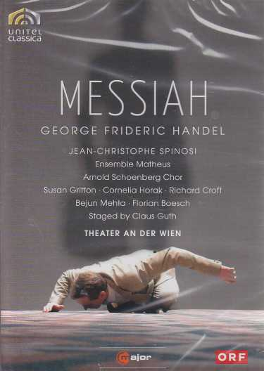 Georg Friedrich Händel / Messiah / Bejun Mehta / Susan Gritton / Ensemble Matheus / Jean-Christophe Spinosi DVD