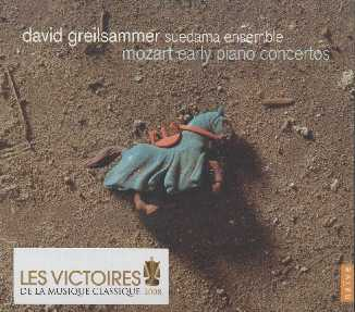 W.A. Mozart / Early Piano Concertos / Suedama Ensemble / David Greilsammer