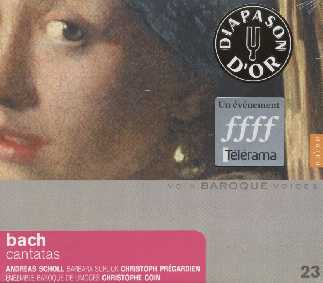 J.S. Bach / Cantatas with violoncello piccolo / Ensemble Baroque de Limoges / Christophe Coin