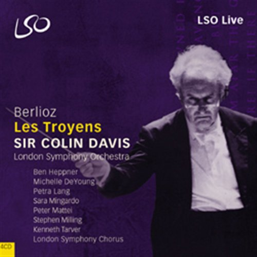 Hector Berlioz / Les Troyens / London Symphony Orchestra & Chorus / Sir Colin Davis 4CD