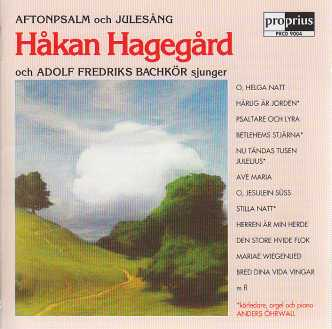 Håkan Hagegård / Favourite Hymns and Carols from Sweden