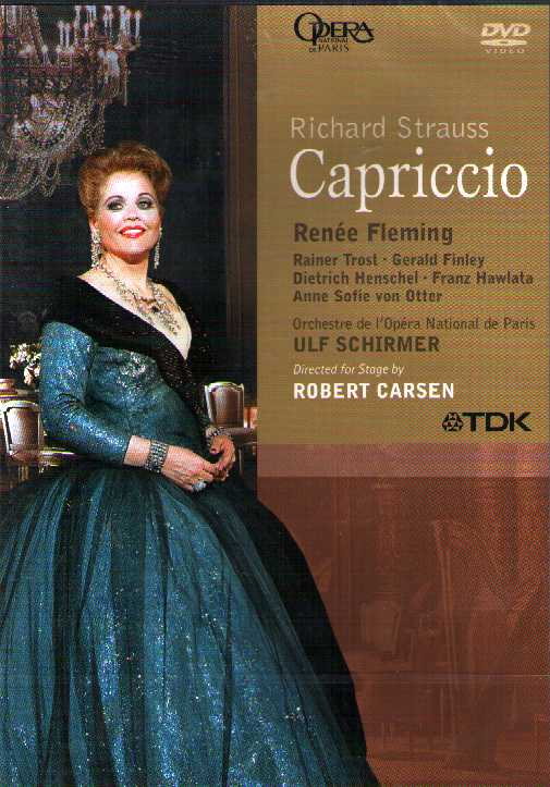 Richard Strauss / Capriccio / Renée Fleming / Dietrich Henschel / Gerald Finley / Opera National de Paris DVD