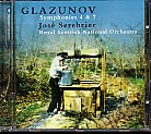Alexander Glazunov / Symphonies 4 & 7 / Royal Scottish National Orchestra / José Serebrier