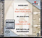 W.A. Mozart / Horn Concertos / Alan Civil / ASMF / Sir Neville Marriner SACD