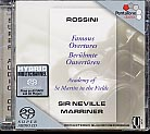 Gioachino Rossini / Famous Overtures / ASMF / Sir Neville Marriner SACD
