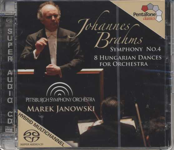 Johannes Brahms / Symphony no. 4 / Hungarian Dances / Pittsburgh SO / Marek Janowski SACD
