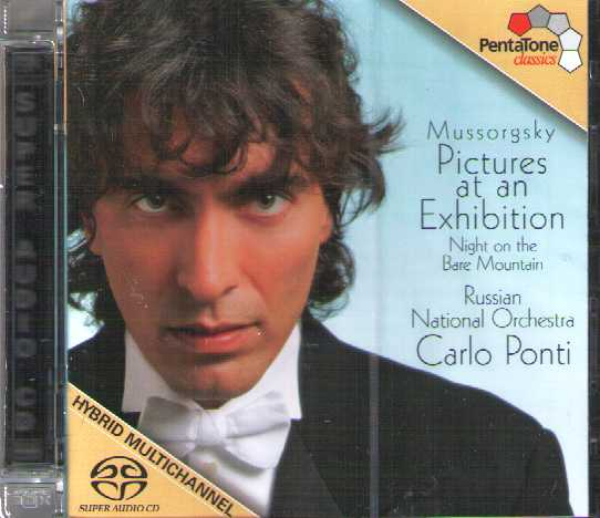 Mussorgsky / Pictures at an Exhibition / Russian National Orchestra / Carlo Ponti SACD