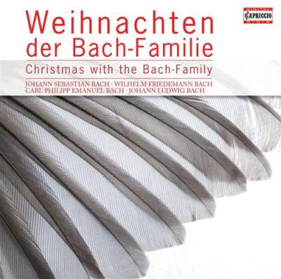 Christmas with the Bach Family // J.S. Bach / J.C.F. Bach / W.F. Bach / C.P.E. Bach / J.L. Bach / J.E. Bach