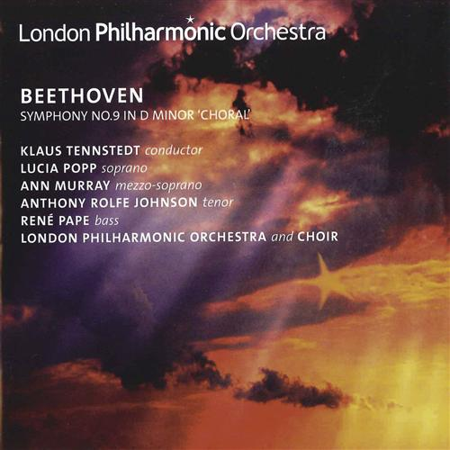 Ludwig van Beethoven / Symphony no. 9 / London Philharmonic Orchestra / Klaus Tennstedt