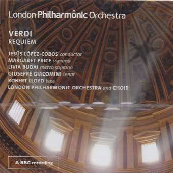 Giuseppe Verdi / Requiem / London Philharmonic Orchestra & Choir / Jesús López-Cobos 2CD