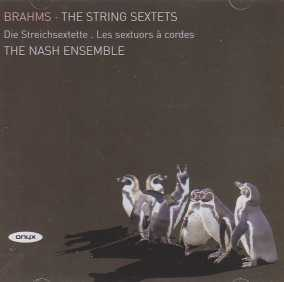 Johannes Brahms / String Sextets / The Nash Ensemble