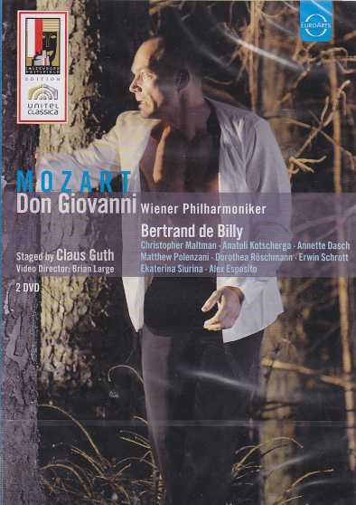 W.A. Mozart / Don Giovanni / Christopher Maltman / Anatoli Kotscherga / Wiener Philharmoniker / Bertrand De Billy DVD